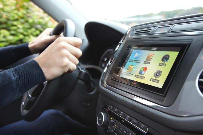 Auto radio cd avec systeme GPS: modern and practical car equipment for your car